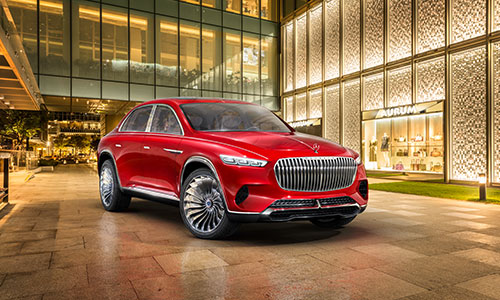 El Vision Mercedes-Maybach Ultimate Luxury presentado en Pekín