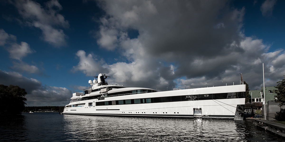 Feadship Unveils 93-Meter Yacht
