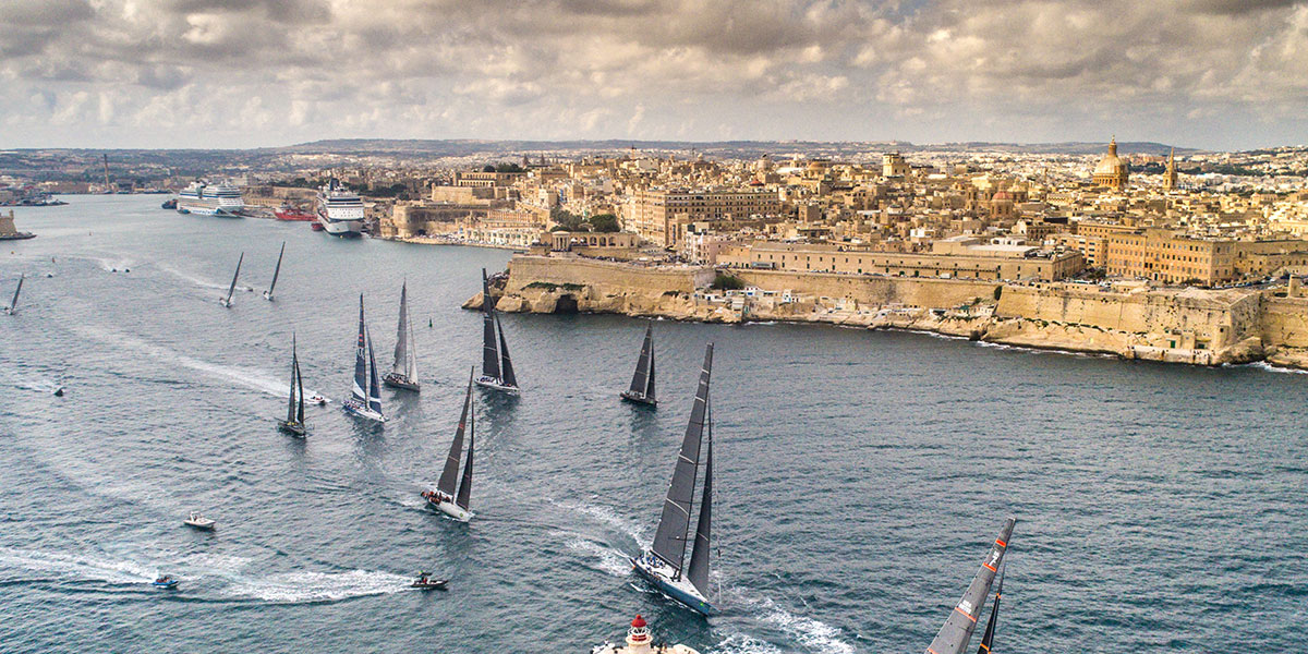 Rolex Middle Sea Race celebrates 50th anniversary in the Mediterranean