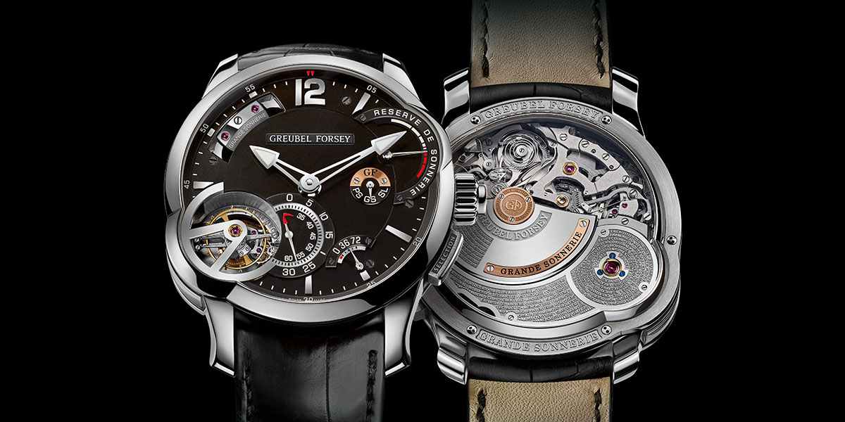 "Greubel Forsey Grande Sonnerie Wins ""Mechanical Exception"" prize in Genève"