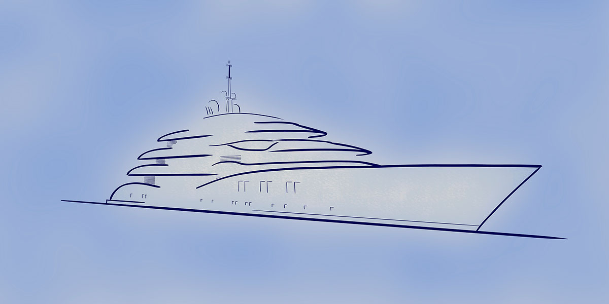 CRN Announces New 70-Metre Megayacht by Vallicelli Design