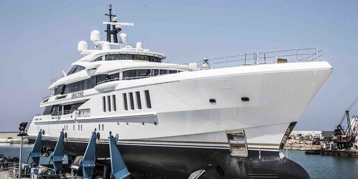 M / Y Spectre de Benetti se coronó en los World Superyach Awards