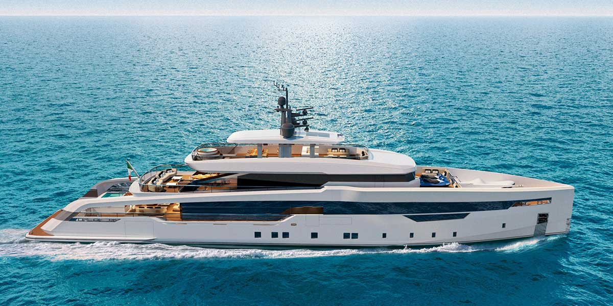 CRN announced the sale of a new 52-metre superyacht