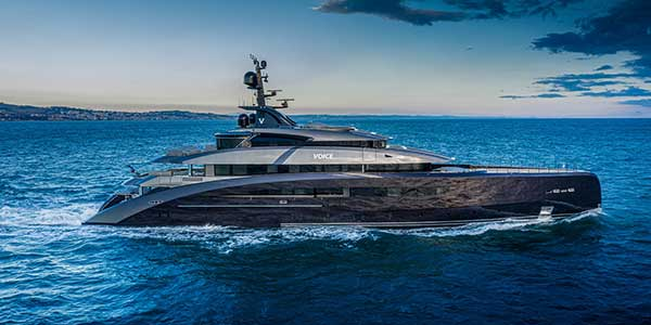 The M/Y 137 from CRN is delivered to a new owner