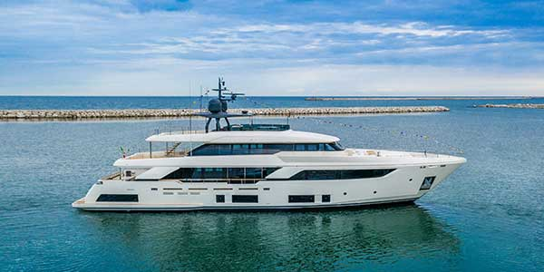 Custom Line launched 11 new yachts in the first six months of 2020