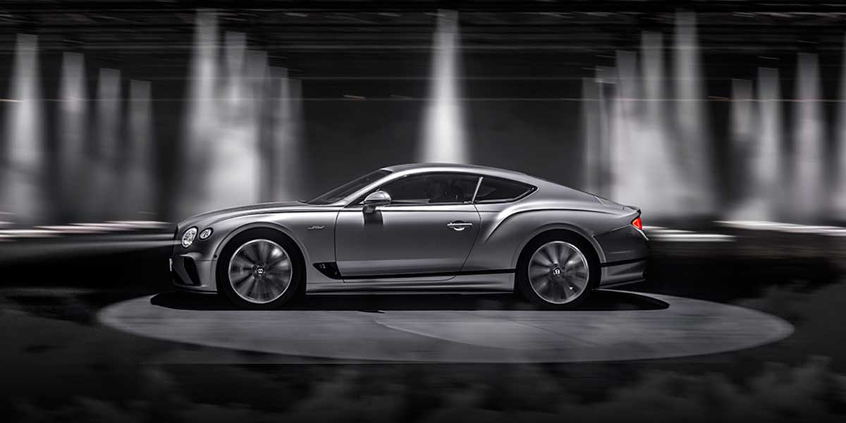 Bentley Continental GT Speed, more dynamic with driver-friendly upgrades