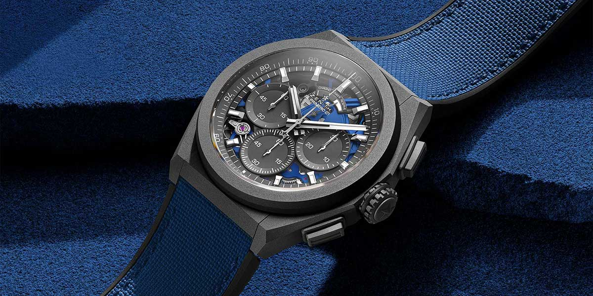 ZenZenith presented its latest version of the Defy 21 chronograph