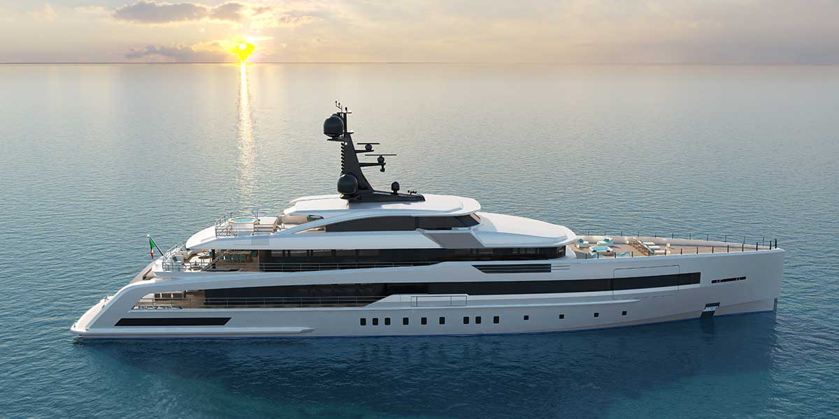 CRN releases new details of the 62-metre m/y 138 megayacht