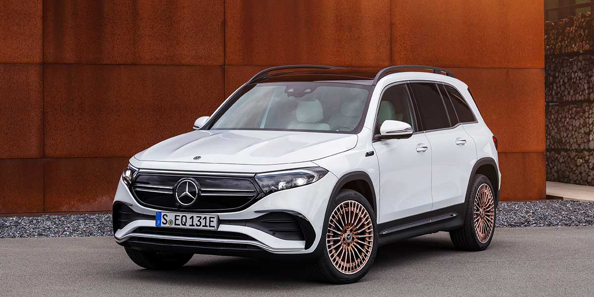 Mercedes-Benz EQB, a more versatile, electric and family car