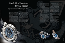 Freak Blue Phantom Ulysse Nardin - Enrique Rosas