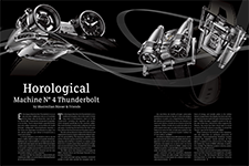 Horological Machine N° 4 Thunderbolt by Maximilian Büsser & Friends - AMURA