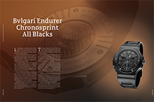 Bvlgari Endurer Chronosprint All Blacks - AMURA