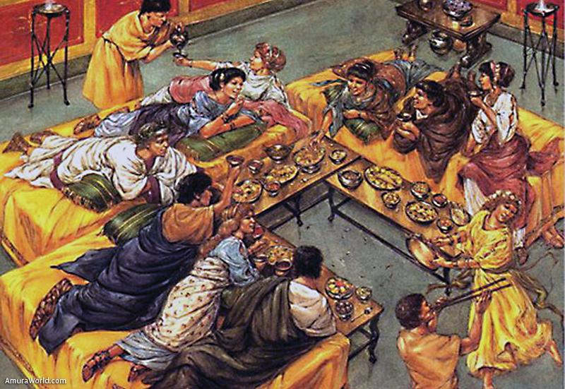 Gastronom a y costumbres culinarias en el mundo antiguo for Costumbres de grecia