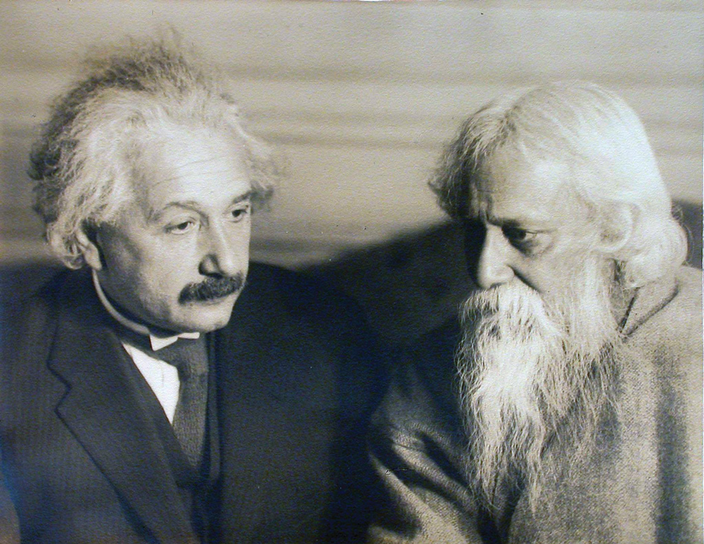rabindranath tagore tagore and albert einstein