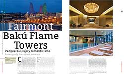 Fairmont Bakú Flame Towers - Matiana Flores