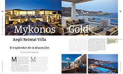 Mykonos Gold / Aegli Retreat Villa - AMURA