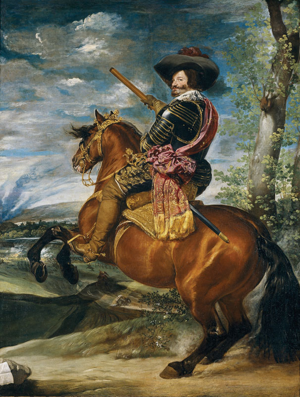 Count-Duke of Olivares by Diego Velázquez (1634) - The Prado Museum, Madrid.