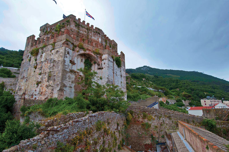 The Moorish Castle.