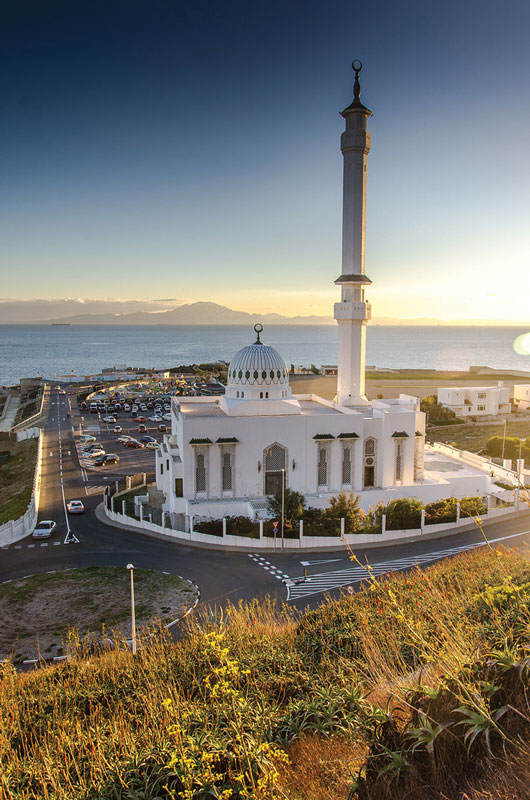 Europa Point harbors the Ibrahim-al-Ibrahim Mosque and the sanctuary of Our Lady of Europe, where Islamic and Catholics unify their prayers.