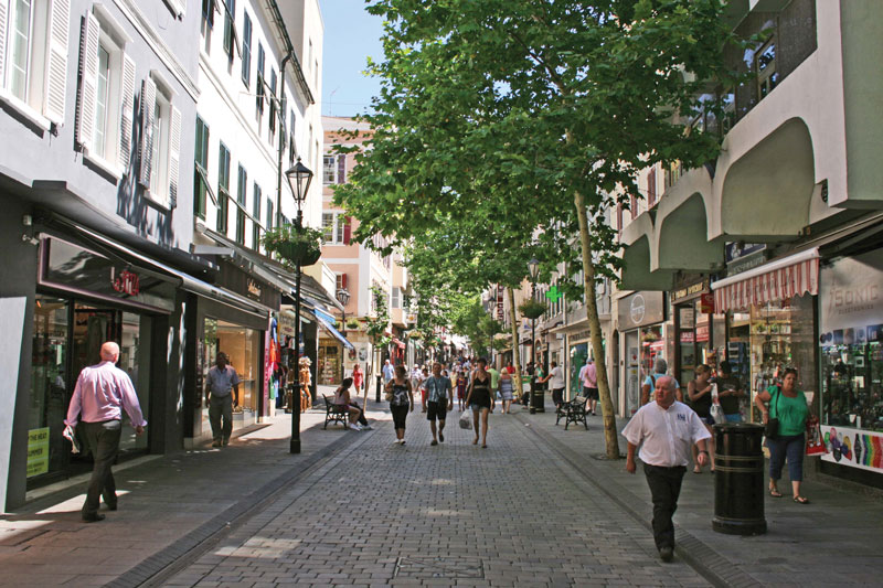 Main Street is known as the commercial hub of the Mediterranean.