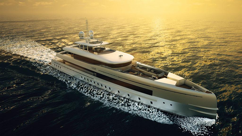 luxury yacht design. Black Bedroom Furniture Sets. Home Design Ideas