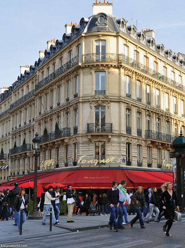 Gourmet Lobster Dishes Le Fouquet's Paris